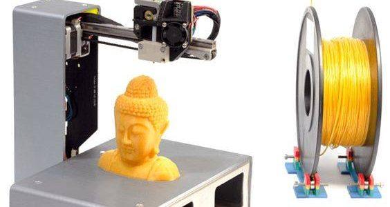 เครื่องพิมพ์สามมิติขนาดพกพาแบบพับได้