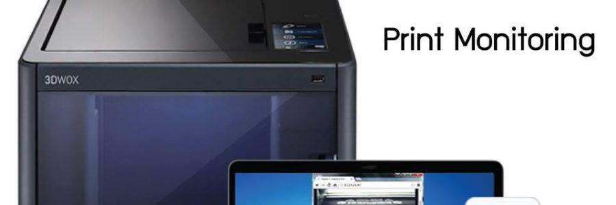 3D Printers รุ่นเดียวที่มีกล้องภายในตัว