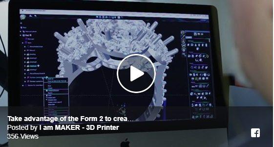 เทคโนโลยีปริ้นท์แบบ SLA จาก Formlab 3D Printer