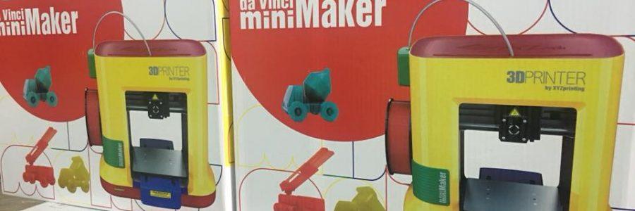 พร้อมส่งแล้วกับเครื่องพิมพ์สามมิติ da Vinci ในรุ่น miniMaker