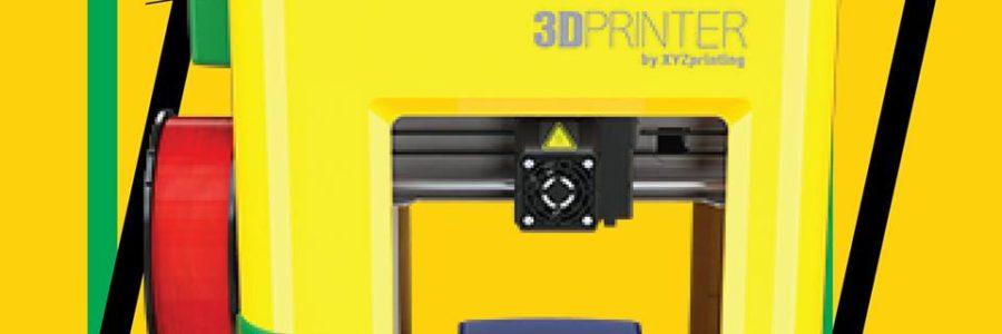 เครื่องพิมพ์สามมิติ จากค่าย Xyzprinting